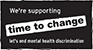 We're supporting time to change